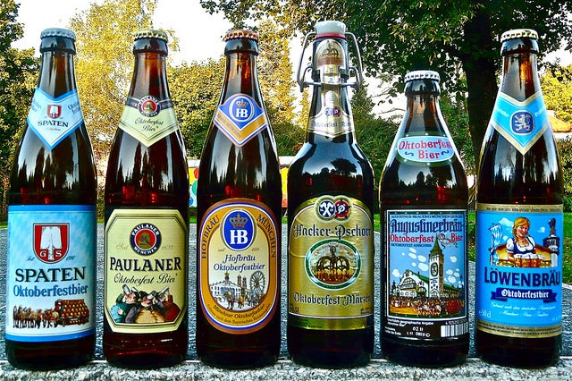 Cervejas do Oktoberfest