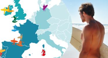 As 15 melhores praias da Europa para fazer surf