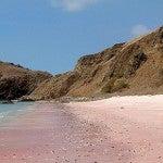 9 praias com belas areias coloridas…