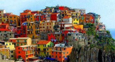 Viagem por 10 cidades coloridas