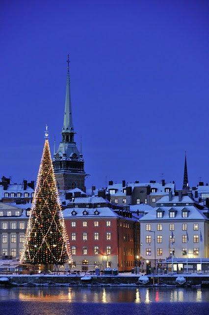Natal em Estocolmo, Suécia