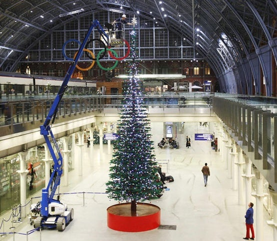 Natal em Londres, Reino Unido