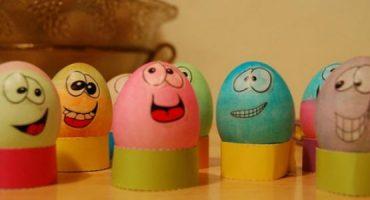 Os ovos da Páscoa mais divertidos e coloridos!