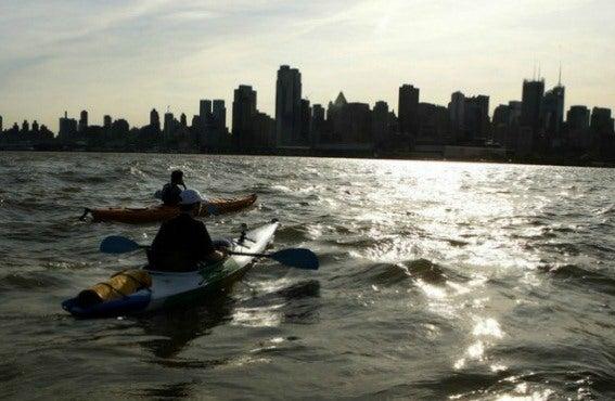 Kayak rio Hudson