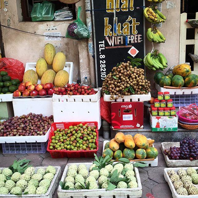 Mercados Hanoi