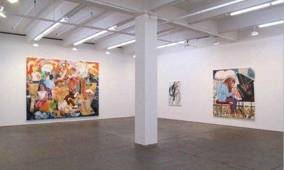 Galeria de arte em Chelsea