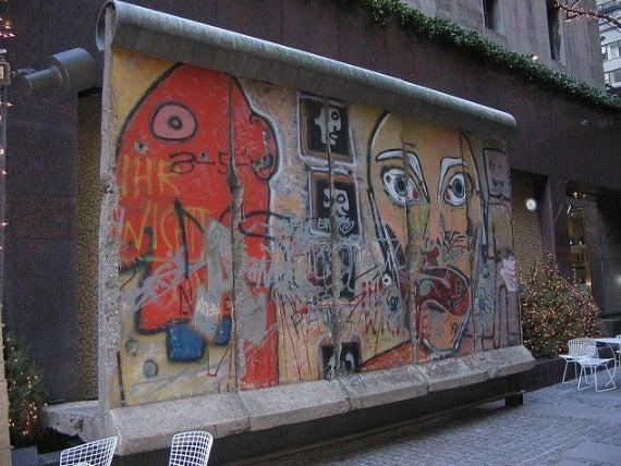 Muro de Berlin em Nova Iorque