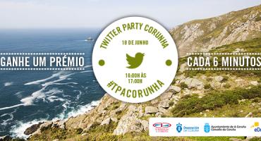 Nova Twitter Party: um prémio cada 6 minutos #TPACorunha