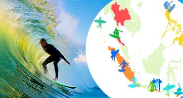 As 15 melhores praias da Ásia para fazer surf