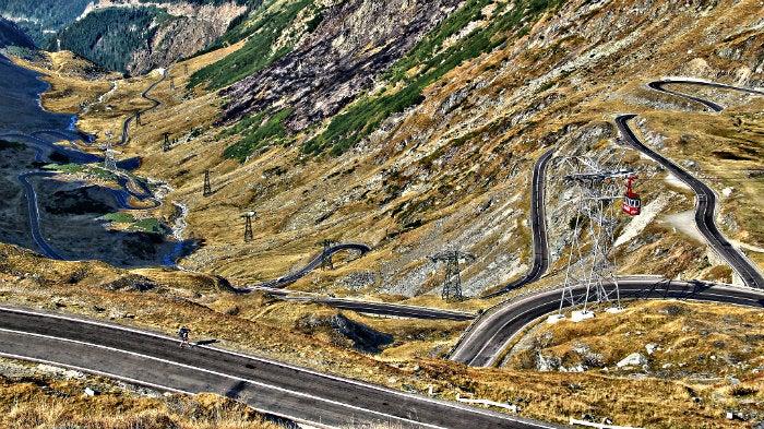 estrada roménia