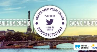 Twitter Party Porto Editora – 25 de Julho, entre as 16h e as 17h