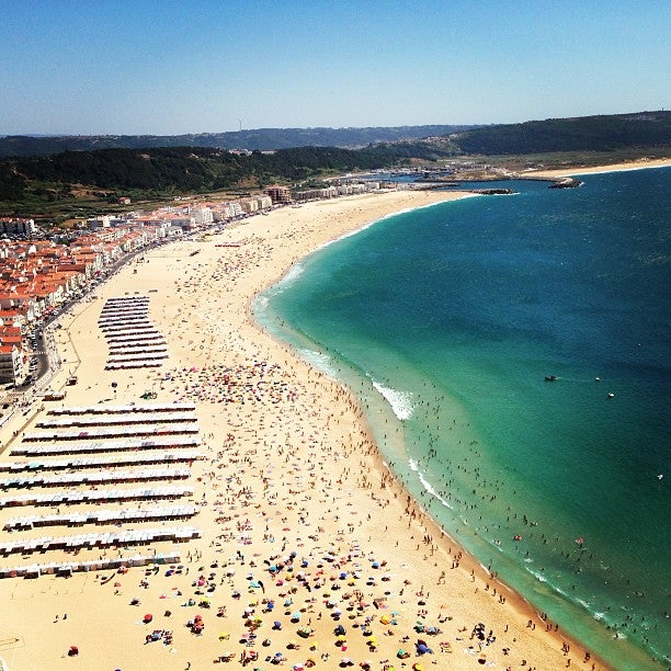 Praia da Nazaré - playas de Portugal