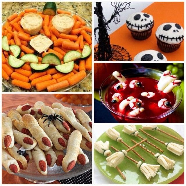 nourriture halloween 2013