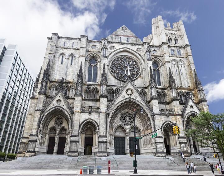 A Catedral de São João, o Divino em Nova Iorque