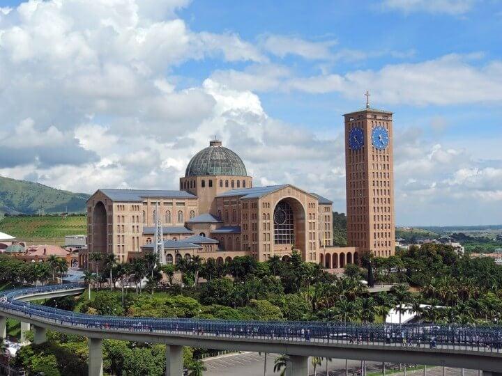 Basílica de Nossa Senhora Aparecida no Brasil