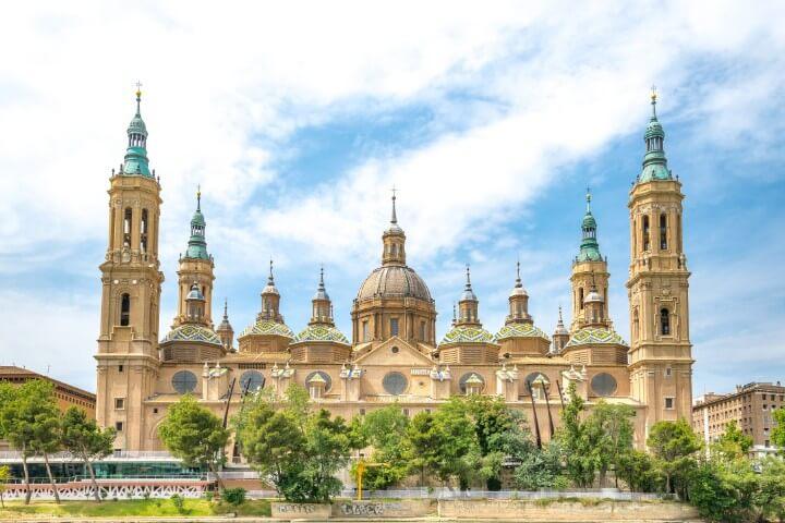 Basílica do Pilar em Zaragoza