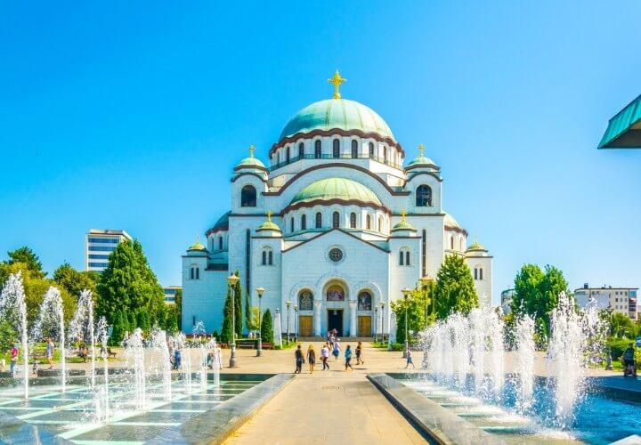 Catedral de San Sava em Belgrado