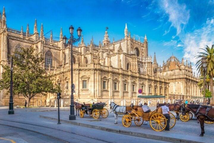 Catedral de Sevilha em Espanha