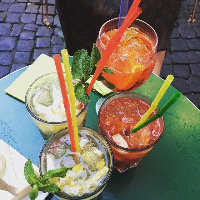 bebida em roma