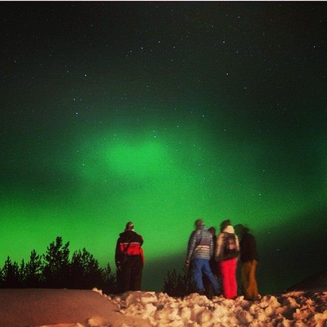 Aurora Boreal en Laponia