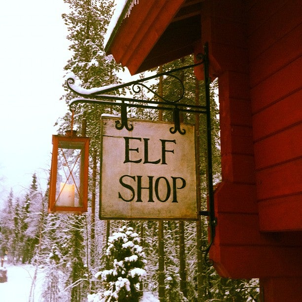 elf shop joulukka, lapponia