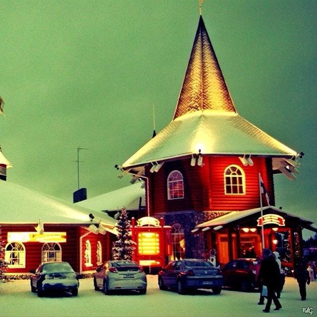 ciudad dónde vive Papá Noel, Rovaniemi, Laponia