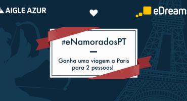 Viaja a Paris este São Valentim com #eNamoradosPT