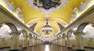 As mais belas estações de metro da Europa