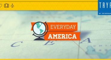 """Parte à descoberta do continente americano com """"Everyday America"""""""