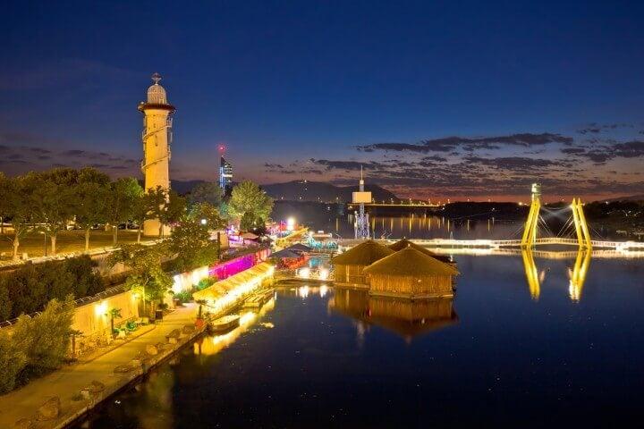 Donauinsel em viena - áustria
