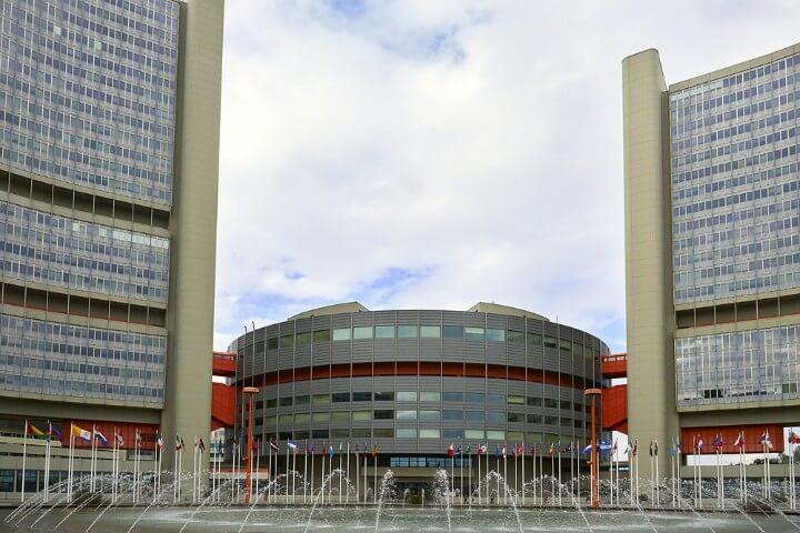 cidade ONU em viena - Áustria