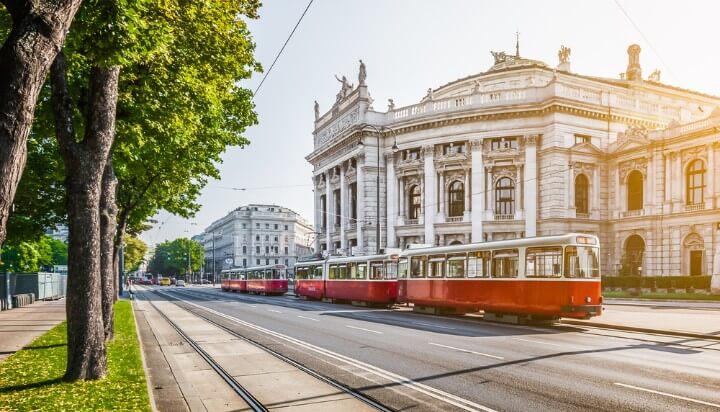 eléctricos em viena - Áustria