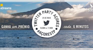 Twitter Party #AçoresTP: desfruta de uma hora repleta de prémios!