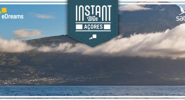Ganha uma viagem aos Açores para 2 pessoas!
