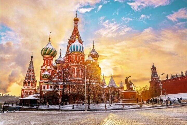 Catedral de São Basílio em Moscovo - Rússia