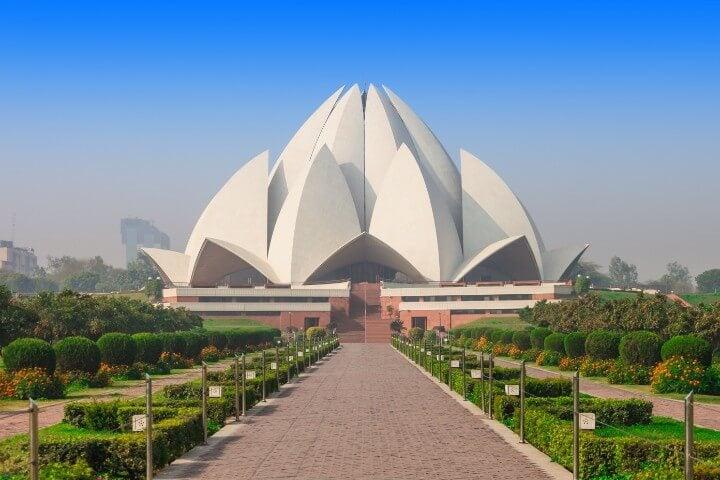 lotus temple - india