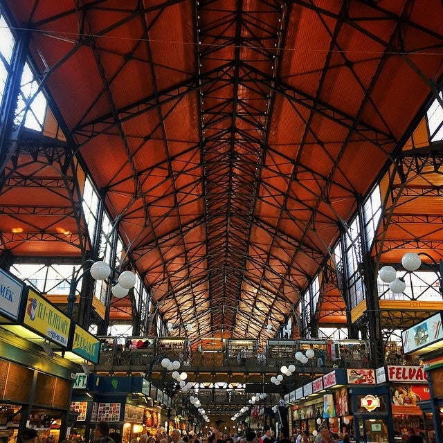 Mercado Central Budapeste