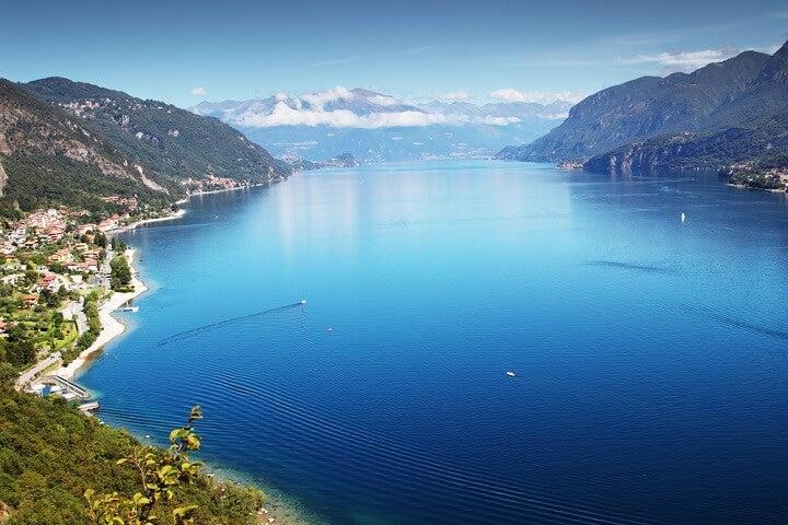 lago como - italia - ferias celebridades