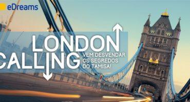 London Calling! Ganha uma viagem à capital britânica para 2 pessoas