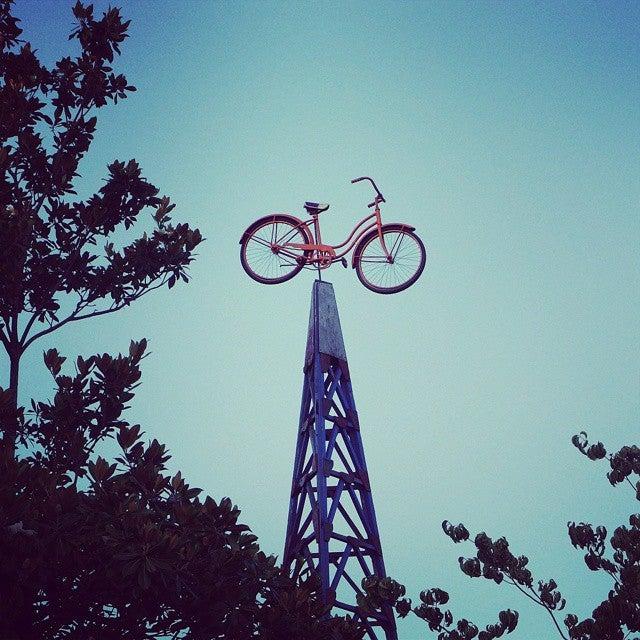 bicicleta em Portland