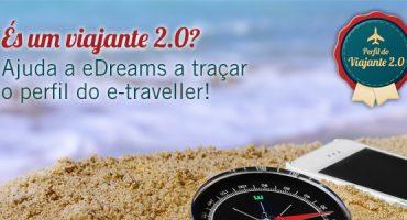 És um viajante 2.0? Participa na sondagem da eDreams