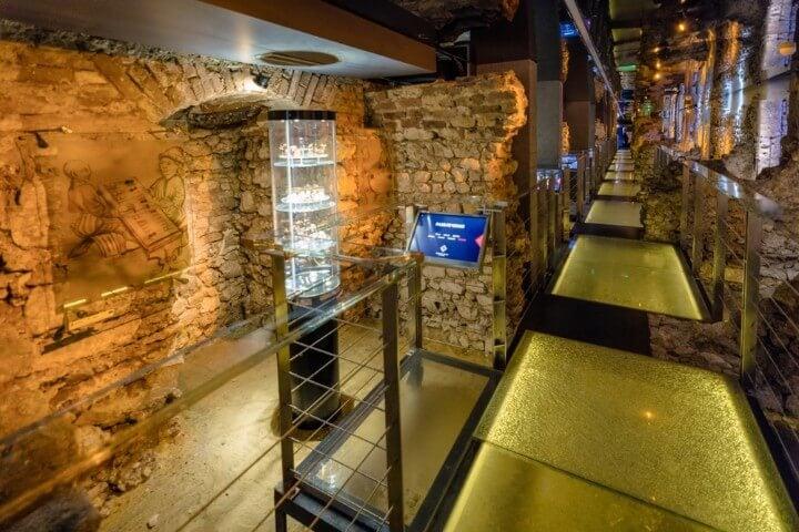 Museu subterrâneo de Cracóvia