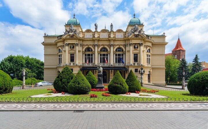 teatro Slowacki na carcóvia - polónia