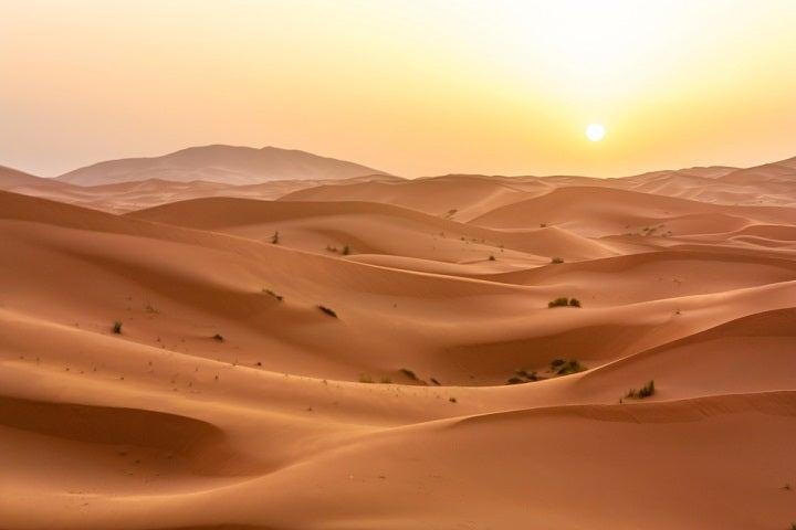 passagem de ano - deserto saraa