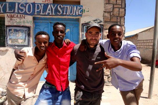 João Leitão na Somália