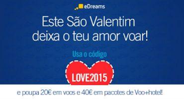 Começam os saldos de São Valentim!