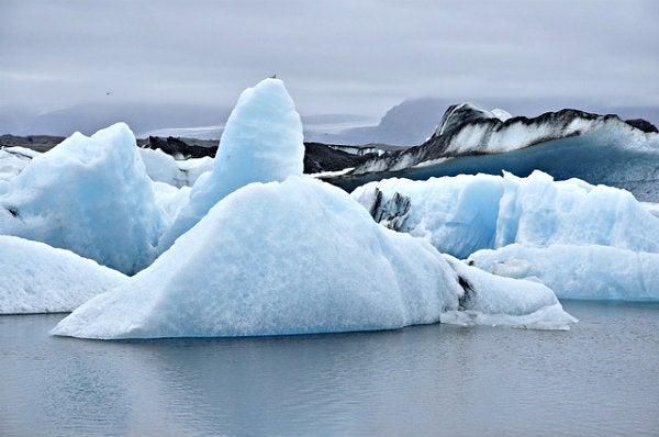 Glaciar Jökulsárlón, Islândia