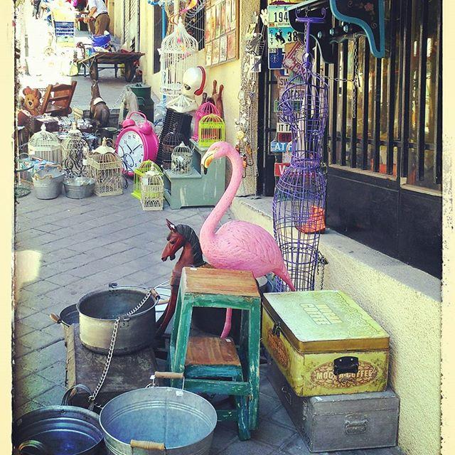 mercado El rastro madrid