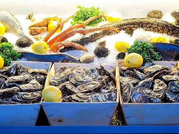 ostras na Côte d'Azur