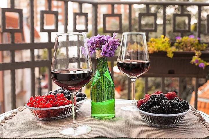 vinho tinto em Sérvia